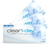 Clear 1-day 1-dags kontaktlinser